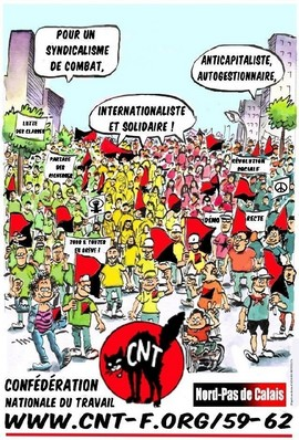 affiche-CNT-Nord-PdC-dessin-manif-R