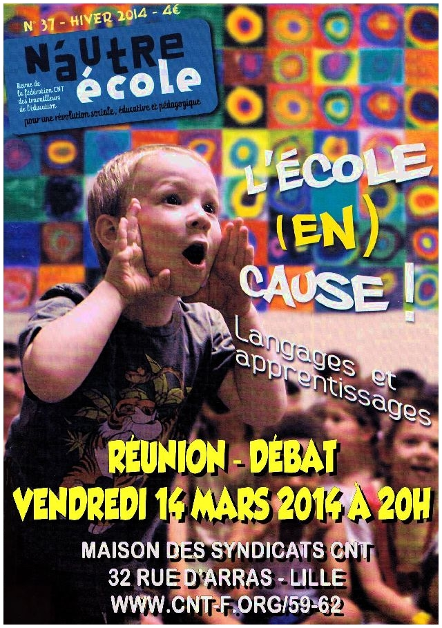 affiche_reunion-debat_langages-et-apprentissages_14mars2014_cnt-education-nord-pdc_format-web
