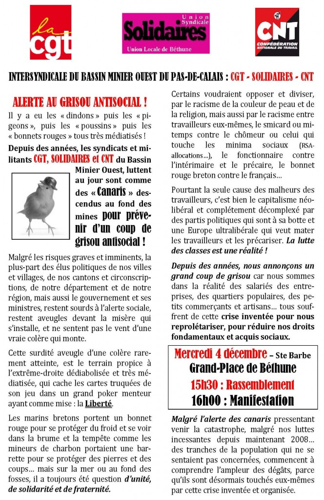 tract-intersyndical-CGT-Solidaires-CNT-bassin-minier-ouest-PdC-manif-4dec2013_page01