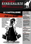 Couverture combat syndicaliste n°452 {JPEG}