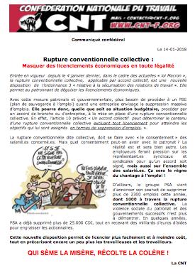 Rupture Conventionnelle Collective Masquer Des Licenciements