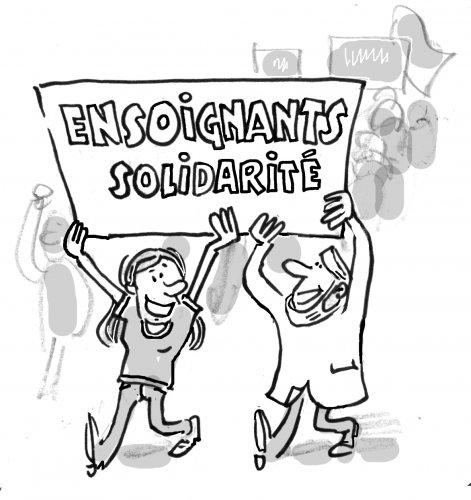 Ensoignantes et ensoignants Solidarité