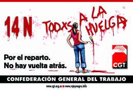 affiche-cgt-espagnole-greve-generale-14nov2012