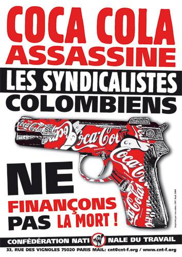 affiche-cnt-solidarite-syndicalistes-colombiens-coca-cola