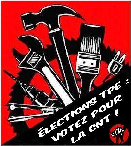 affichette-SUB-RP-election-TPE votez-CNT